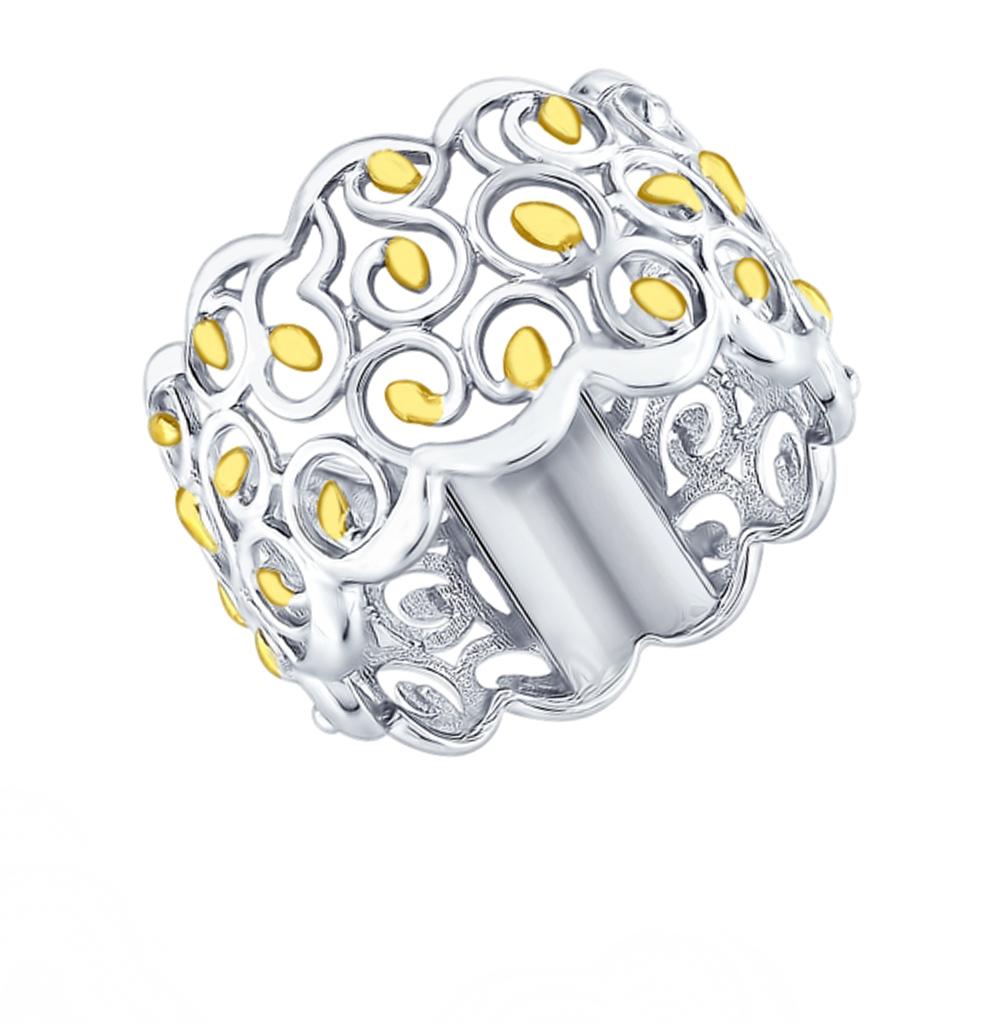 серебряное кольцо SOKOLOV 94012418