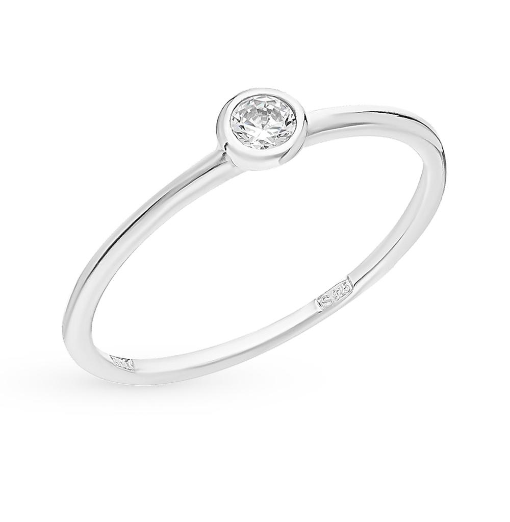 серебряное кольцо с фианитами SOKOLOV 94010630