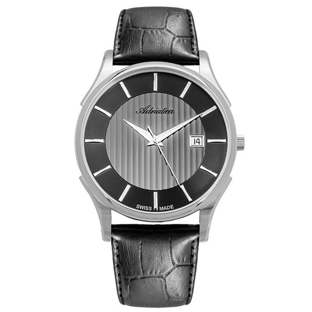 Мужские часы A1246.5217Q2 на кожаном ремешке с минеральным стеклом в Санкт-Петербурге