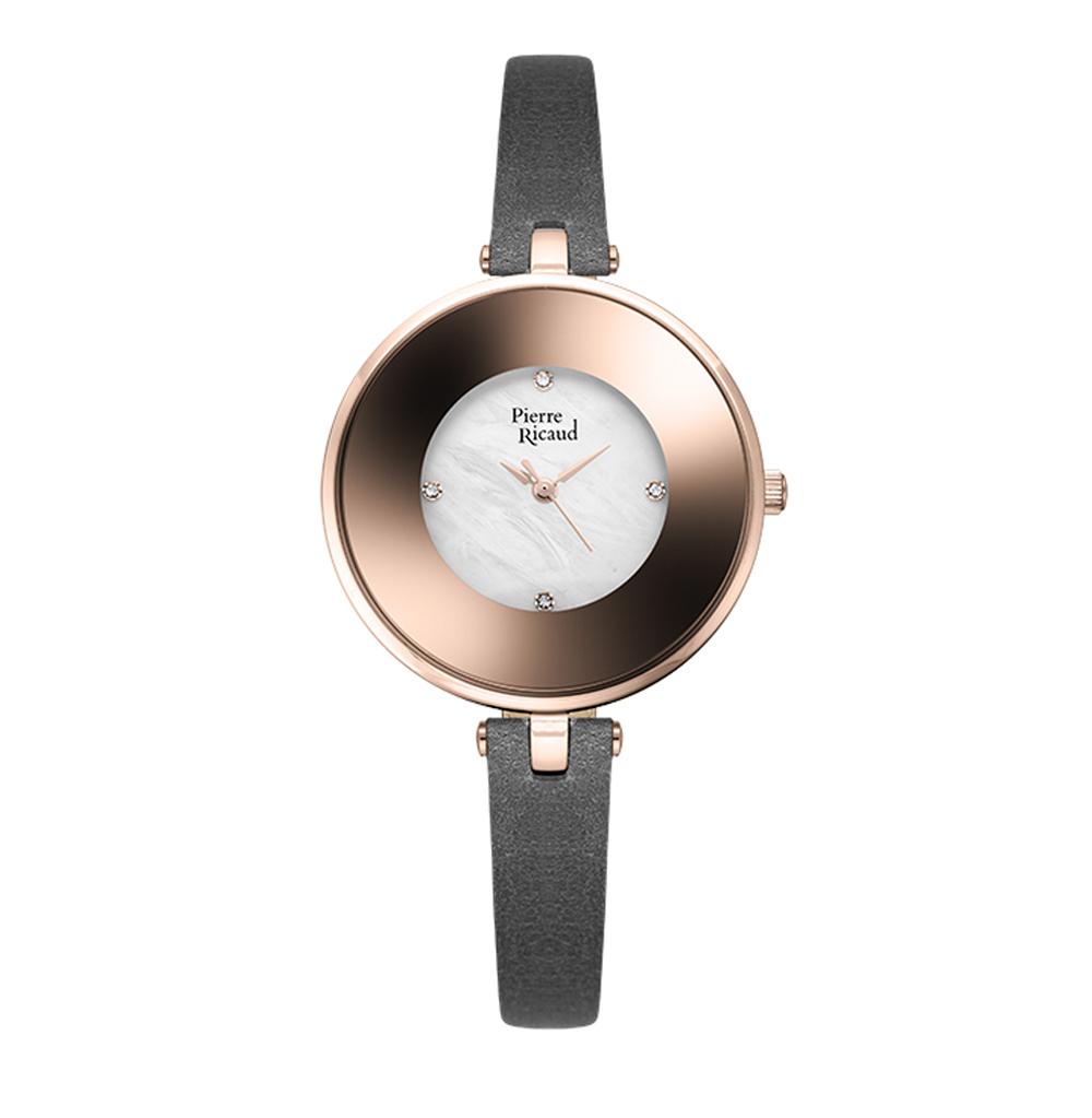 Женские часы P22046.9G4FQ на кожаном ремешке с минеральным стеклом в Екатеринбурге