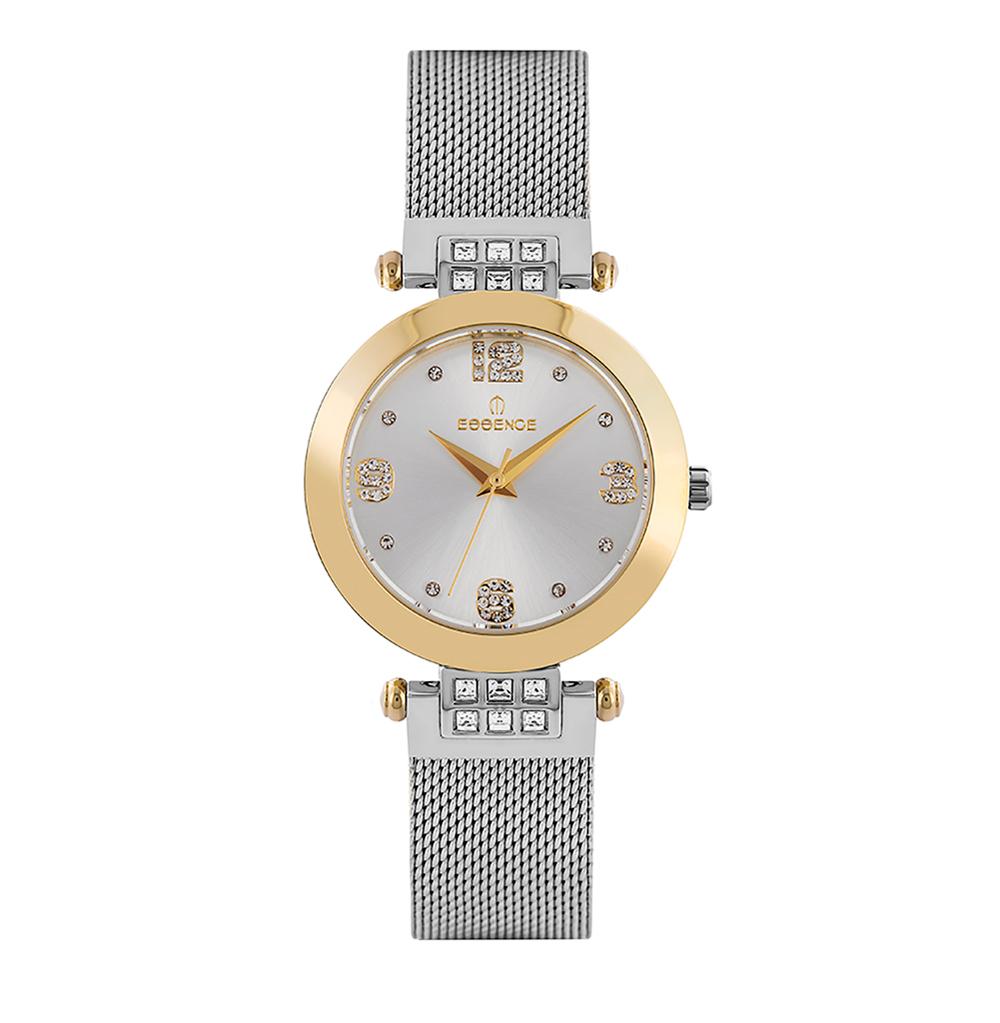 Фото «Женские  кварцевые часы ES6547FE.220 на стальном браслете с минеральным стеклом»