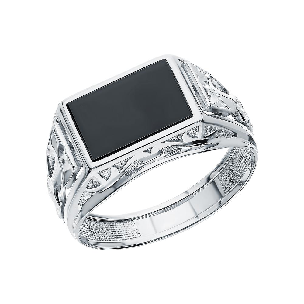 Фото «Серебряное кольцо с ониксом»