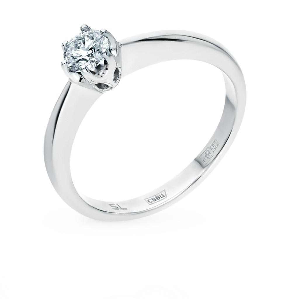 золотое кольцо SUNLIGHT «Бриллианты Якутии»