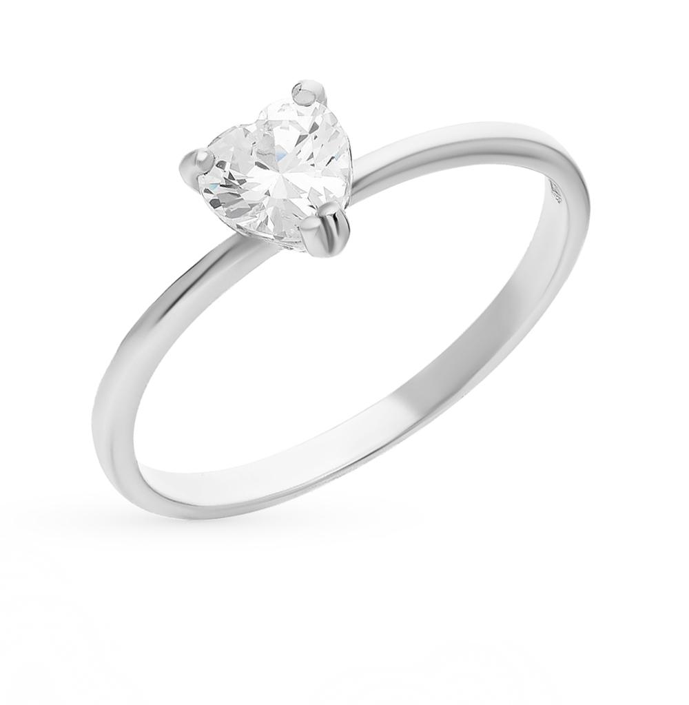 серебряное кольцо с фианитами SOKOLOV 94011721