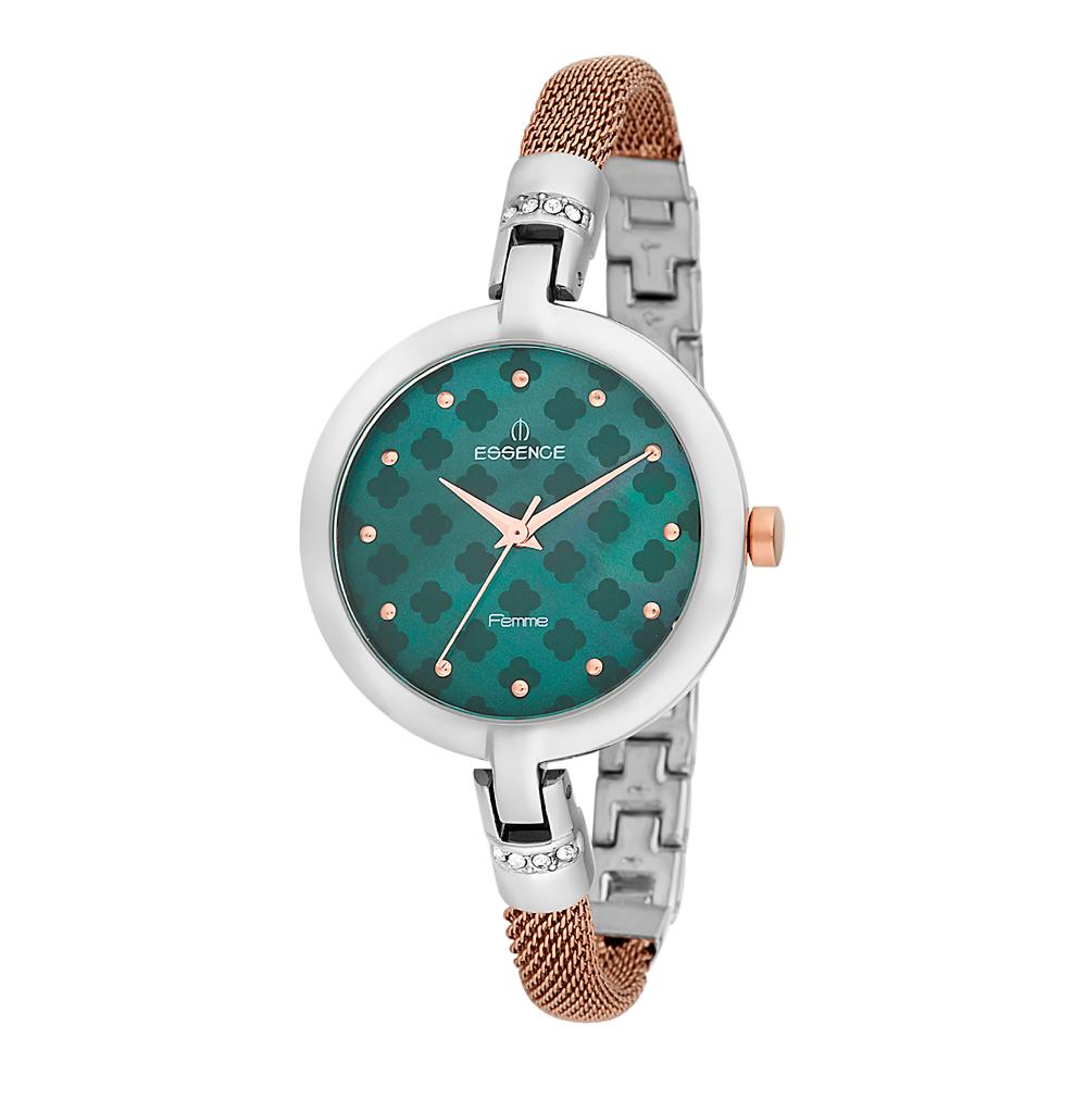 Женские часы D880.580 на стальном браслете с частичным PVD покрытием с минеральным стеклом в Санкт-Петербурге