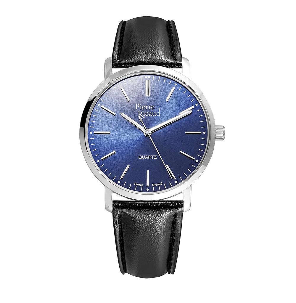 Мужские кварцевые часы P97215.5215Q на кожаном ремешке с минеральным стеклом в Екатеринбурге