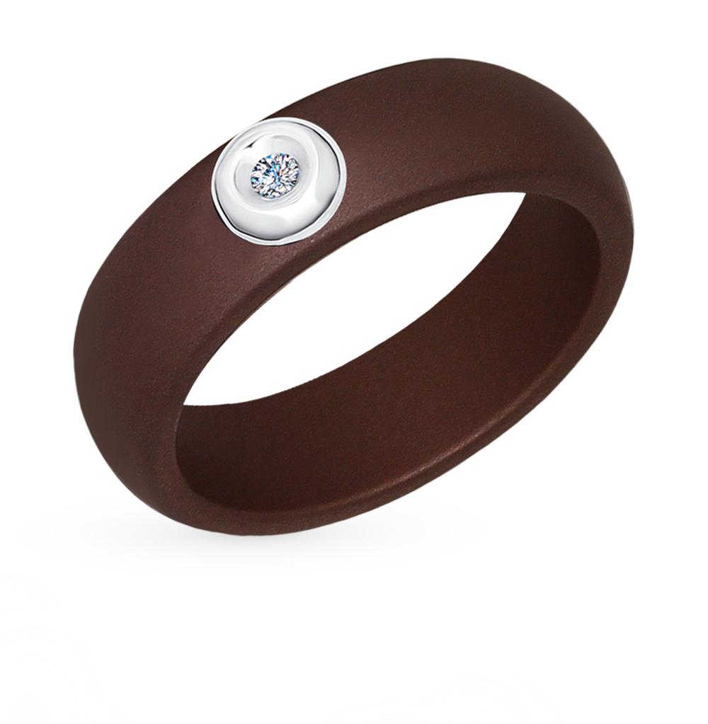 золотое кольцо с бриллиантами SOKOLOV 6015035