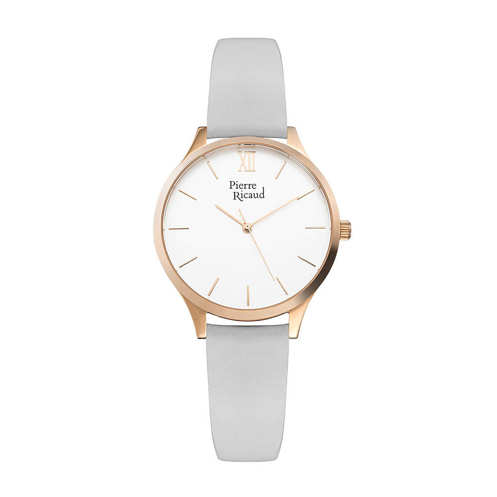 Фото «Женские кварцевые часы P22033.9G63Q на кожаном ремешке с минеральным стеклом»