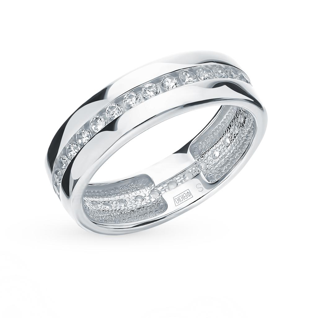 Серебряное кольцо с фианитами SOKOLOV 94110026 в Екатеринбурге