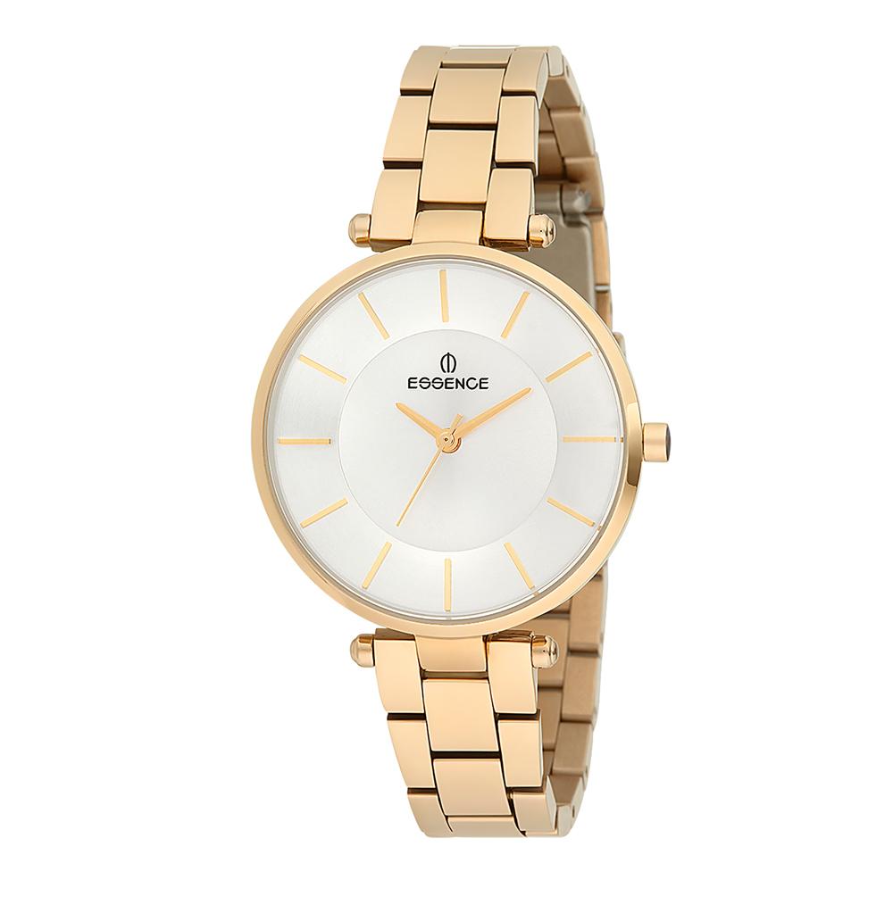 Женские часы ES6418FE.130 на стальном браслете с IP покрытием с минеральным стеклом