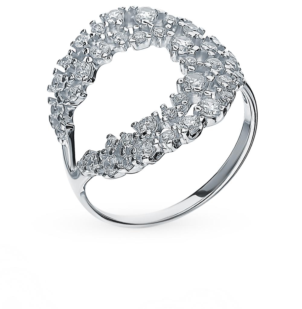 Серебряное кольцо с фианитами SOKOLOV 94013027 в Екатеринбурге