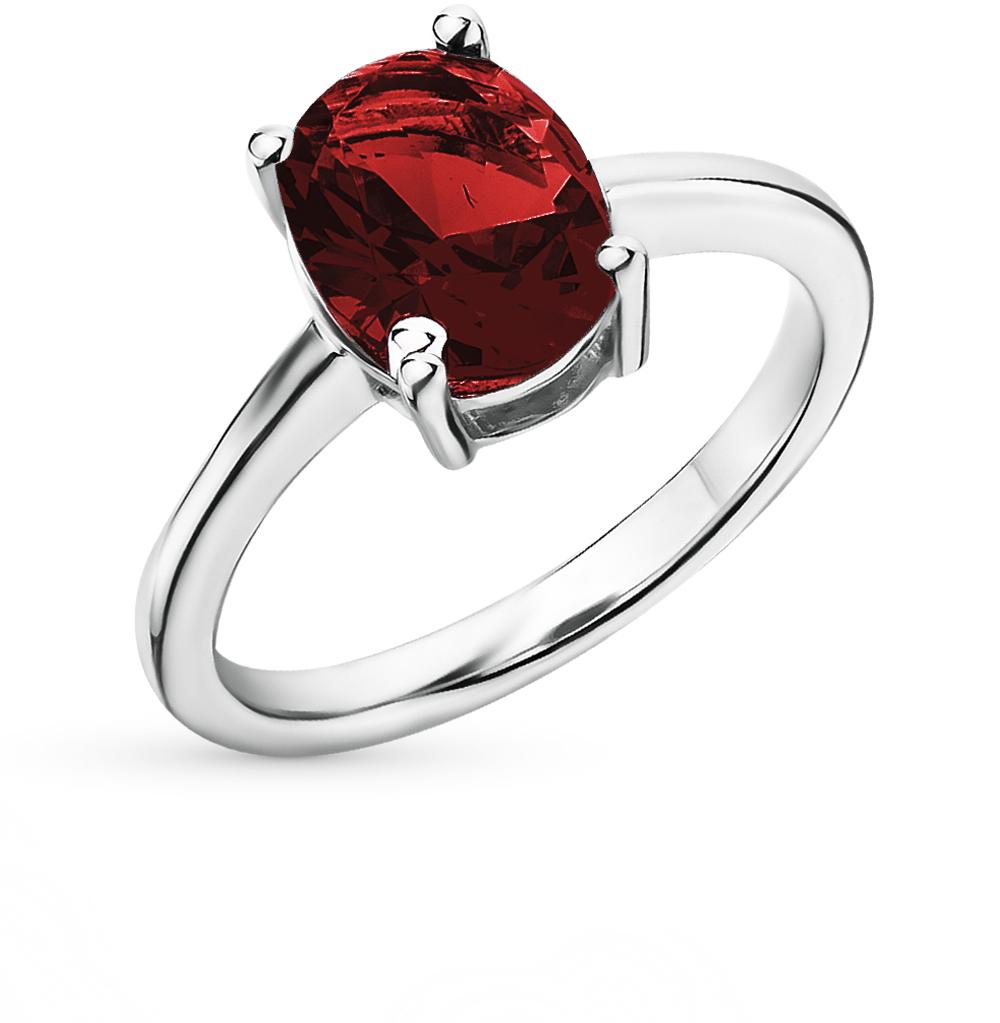Фото «серебряное кольцо с гранатом»