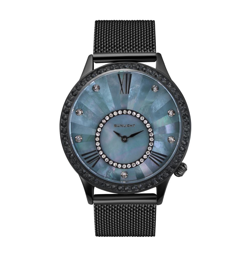 Женские часы с перламутром на миланском браслете в Екатеринбурге