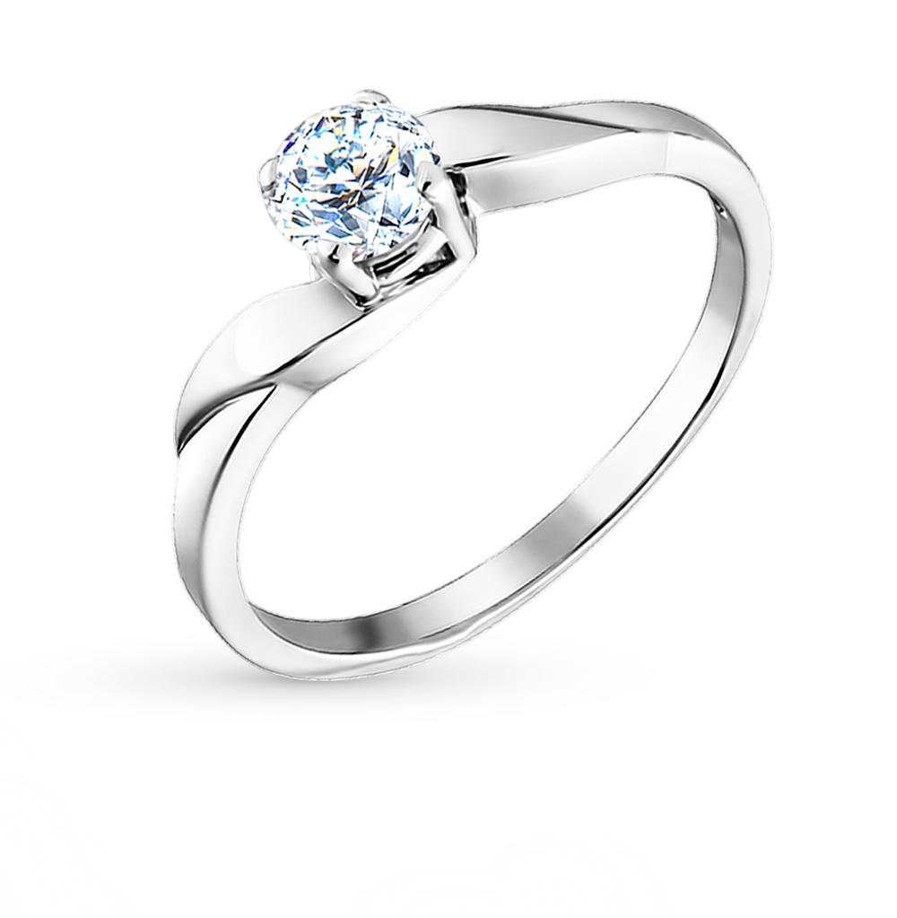 серебряное кольцо с фианитами SOKOLOV 94010011