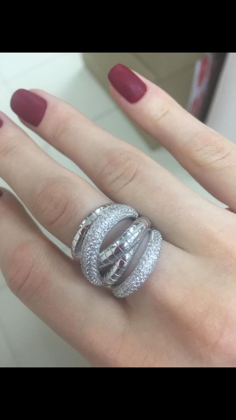 Давно хотела большое массивное кольцо, увидела его и другие варианты отпали