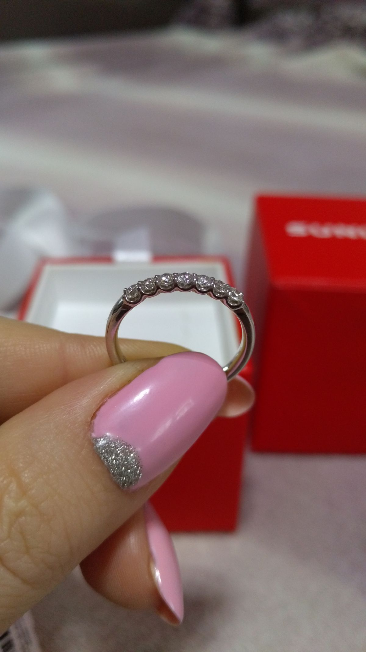 Моё помолвочное кольцо