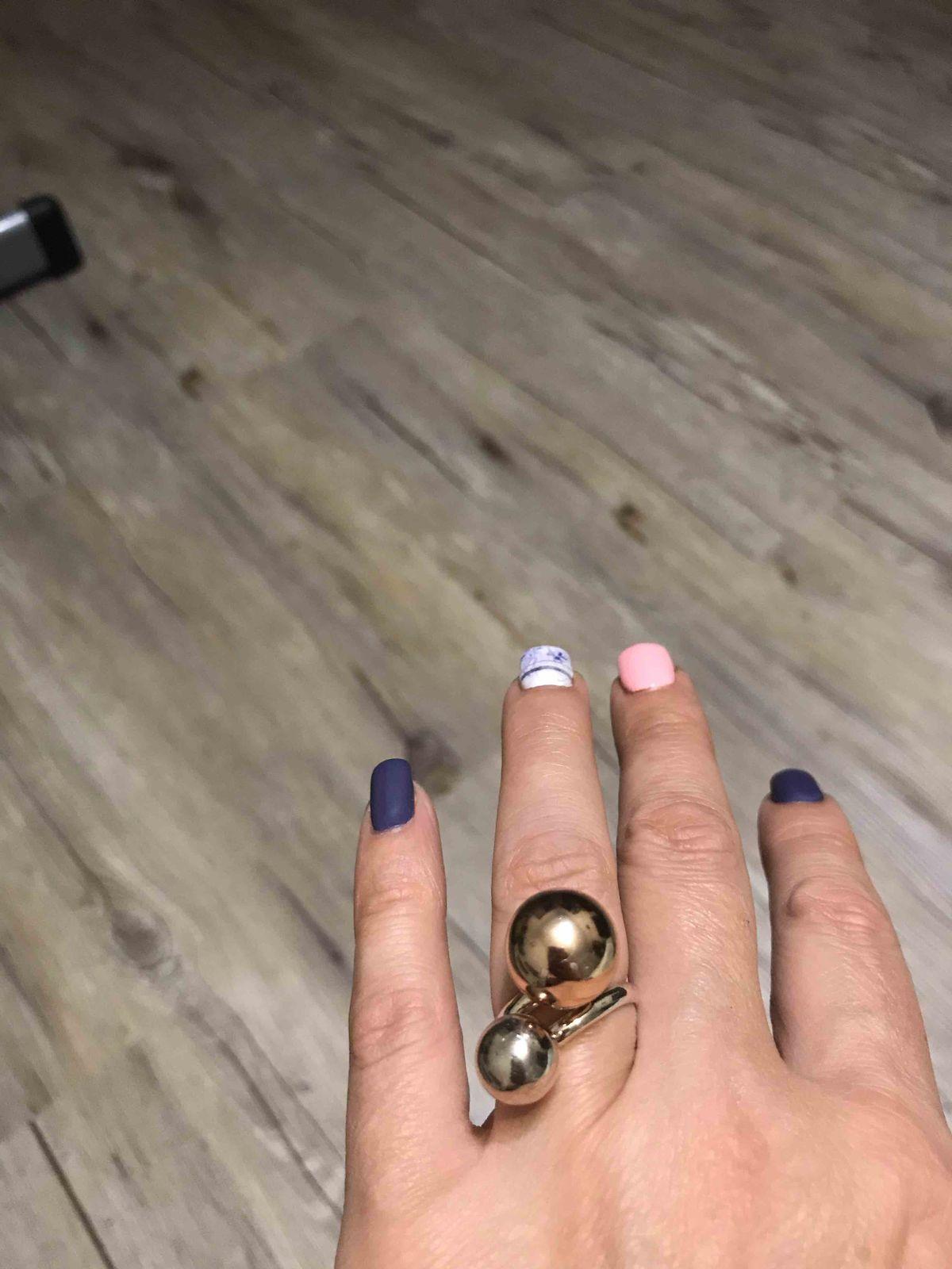 Кольцо шарами