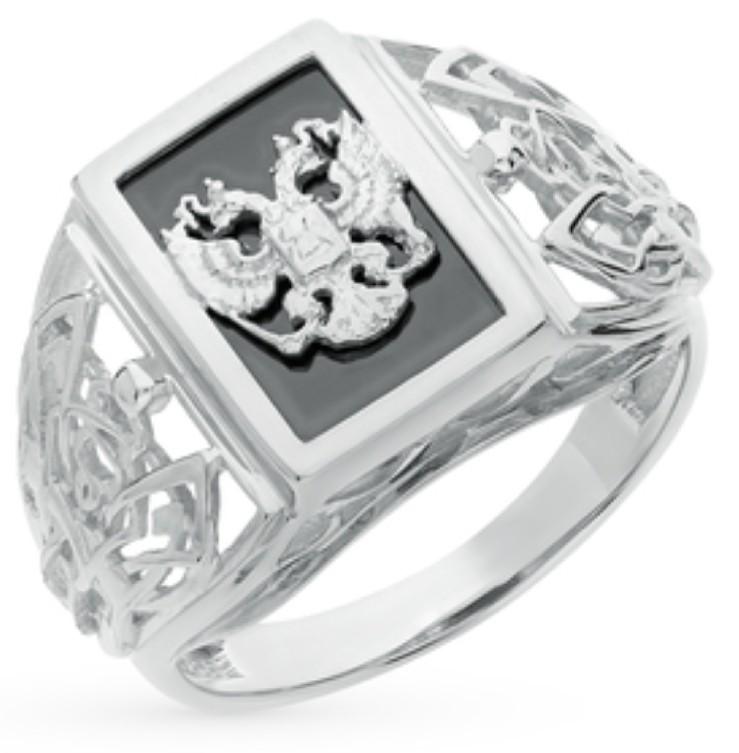 Серебряный перстень.