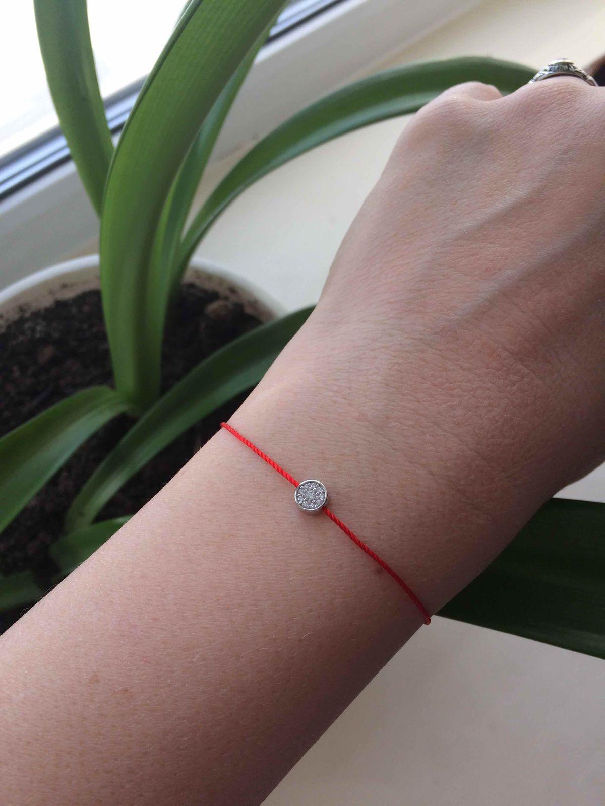 Красная нить-браслет