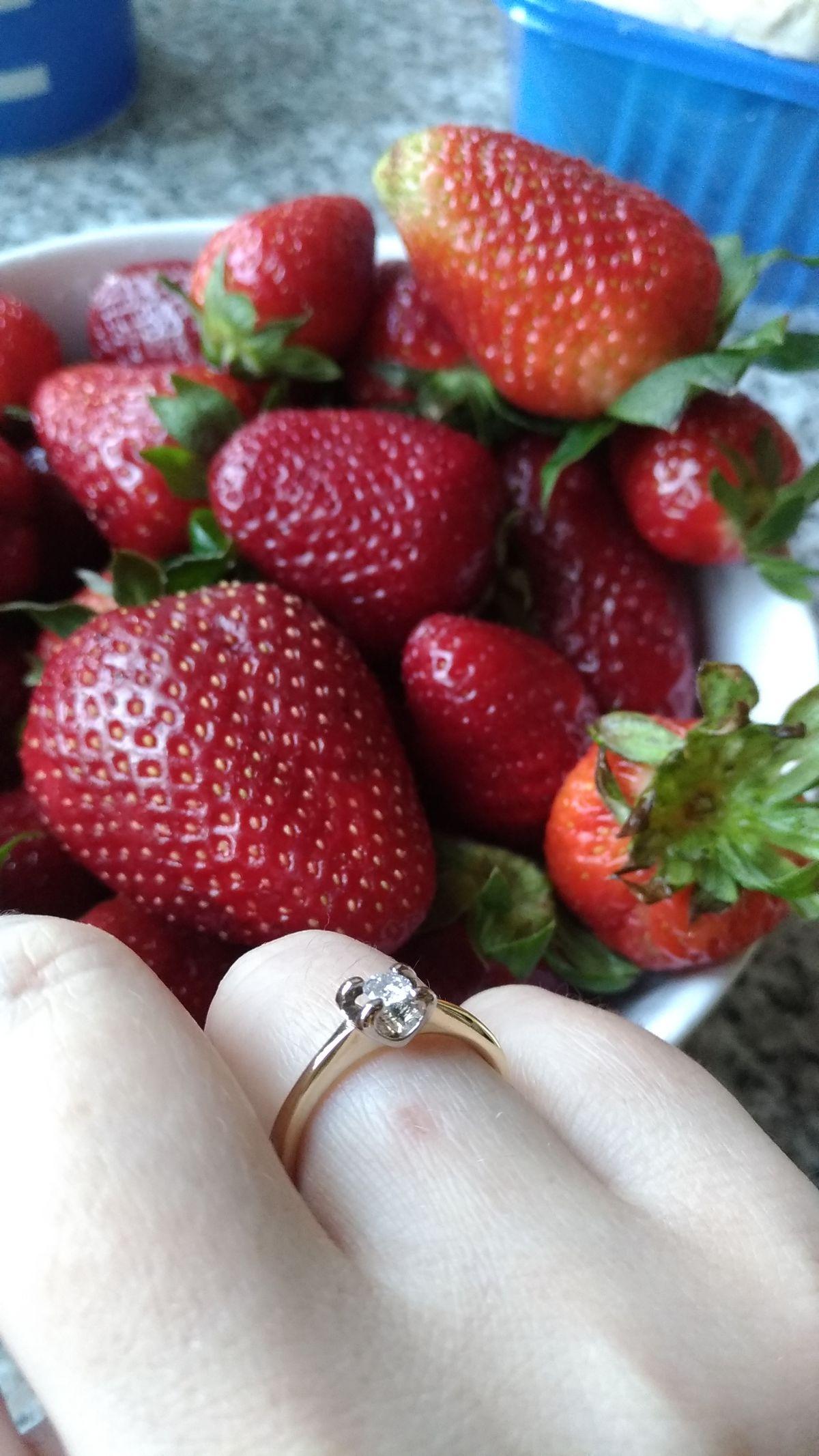 Идеальное кольцо для помолвки.