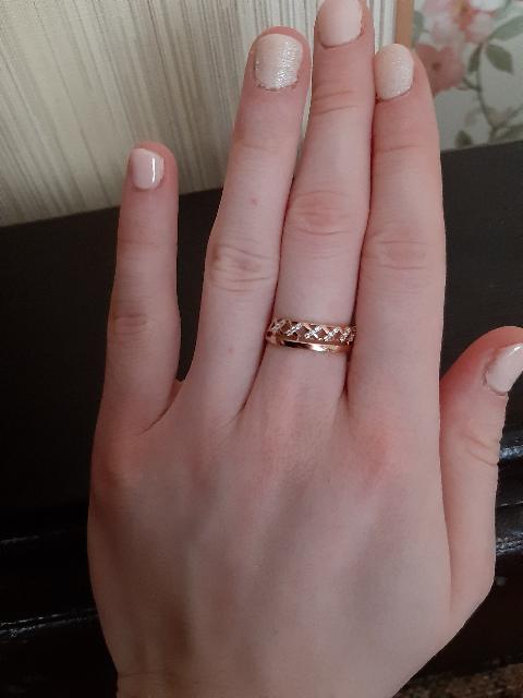 Кольцо для девушек.