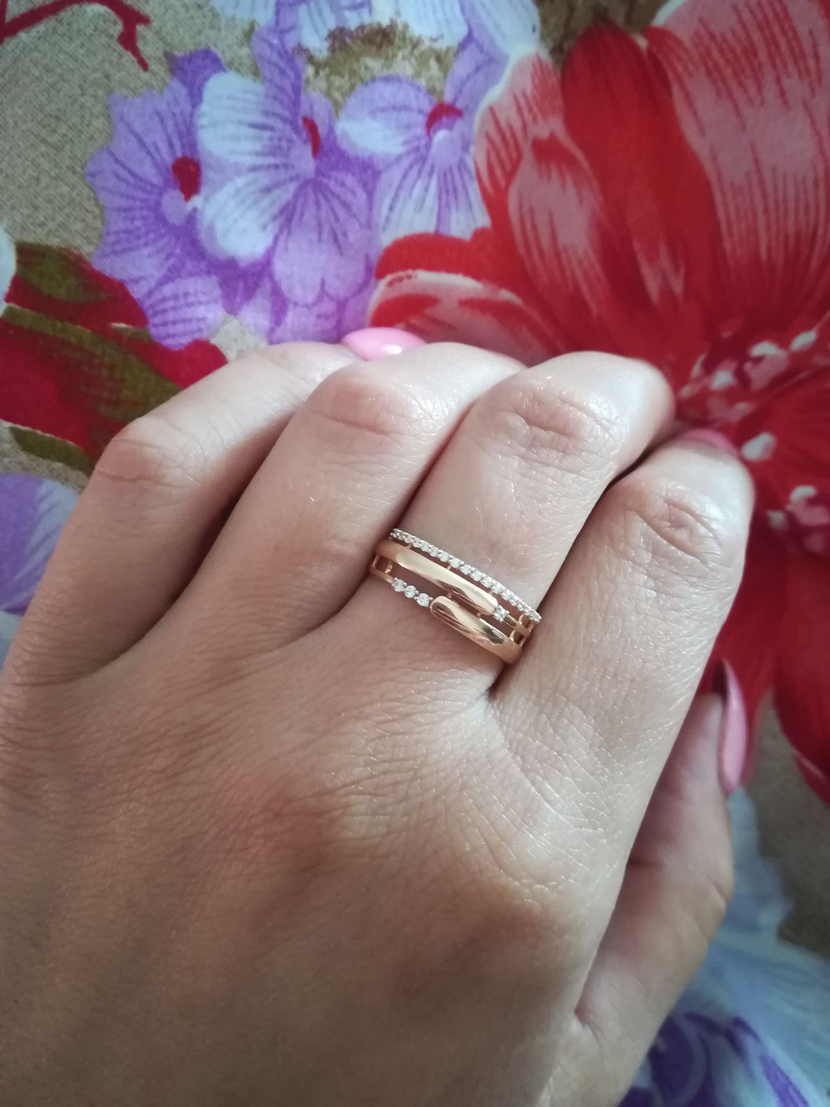 Отличное кольцо, подарок мужа