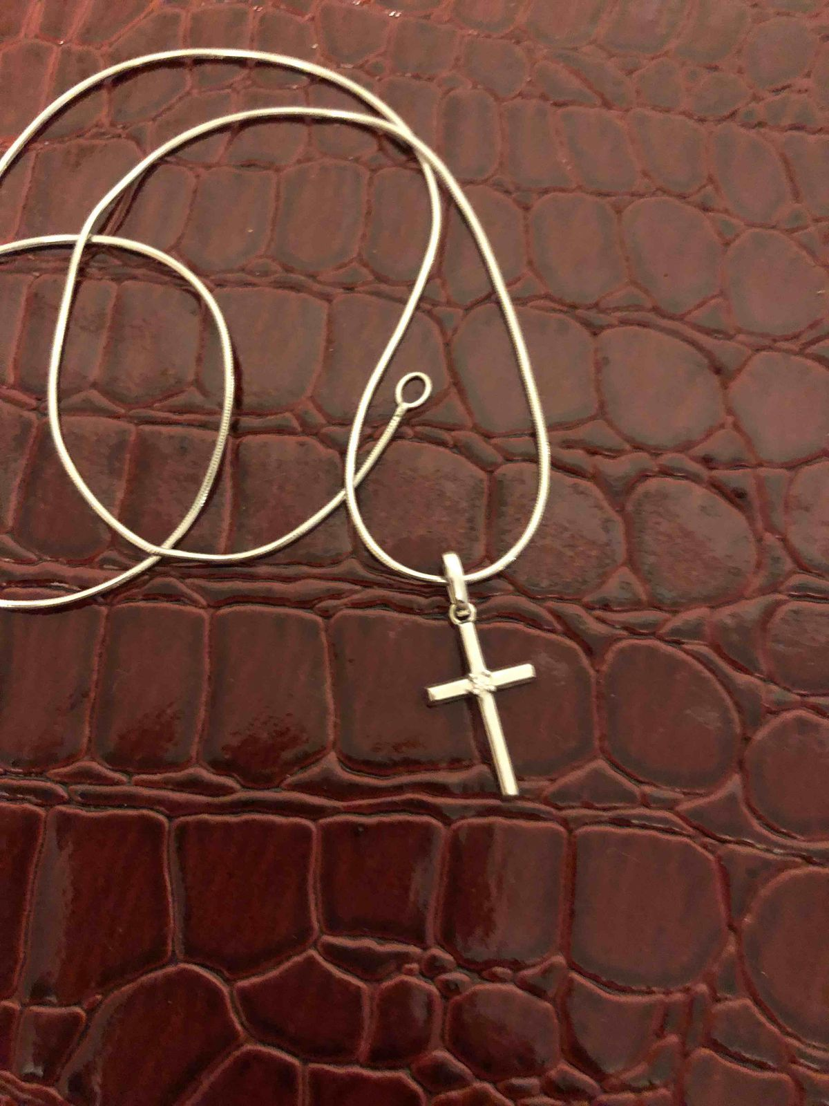 Акуратный крестик на каждый день