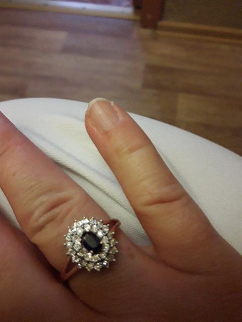 My ring. Моё кольцо.