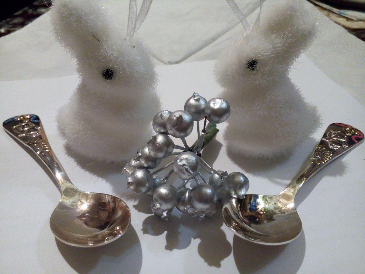 Серебряная ложка для мужа