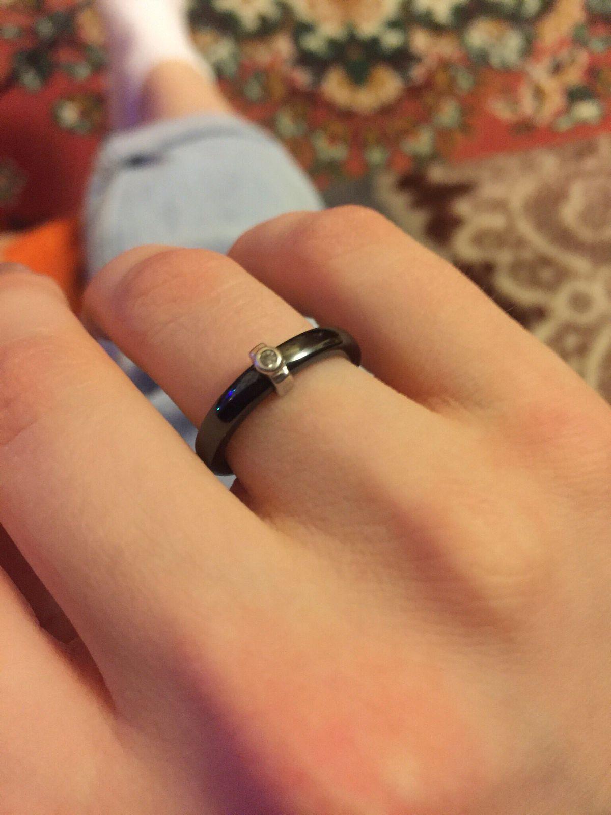 Керамическое кольцо 🌚