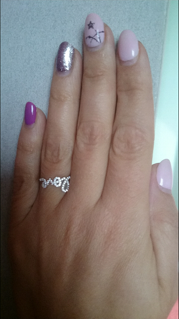 Шикарное необычное кольцо