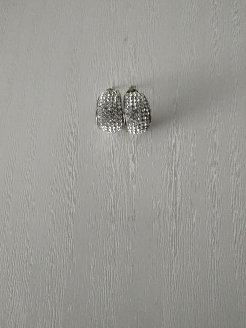 Сережки серебреные