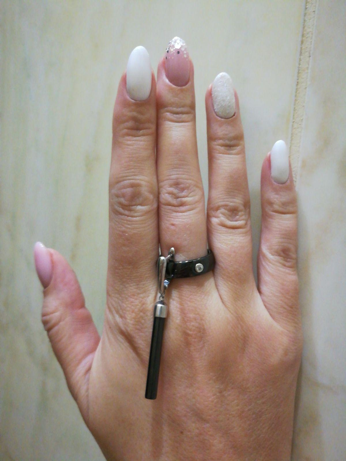 Стильное дополнение к керамическому кольцу