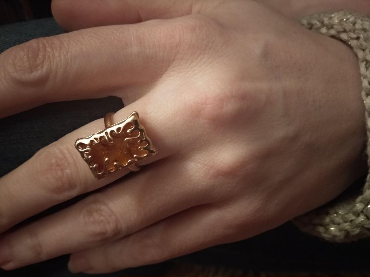 Отличное кольцо к серьгам!