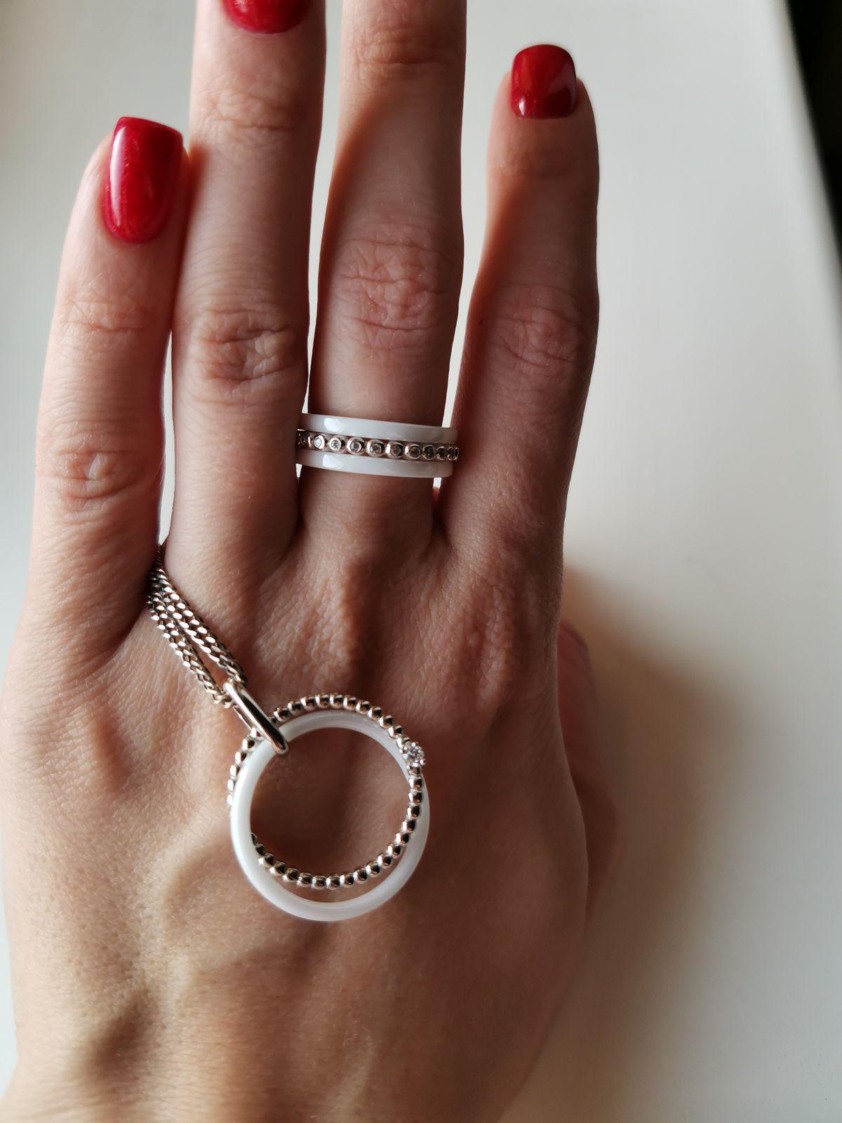 Очень красивое составное кольцо