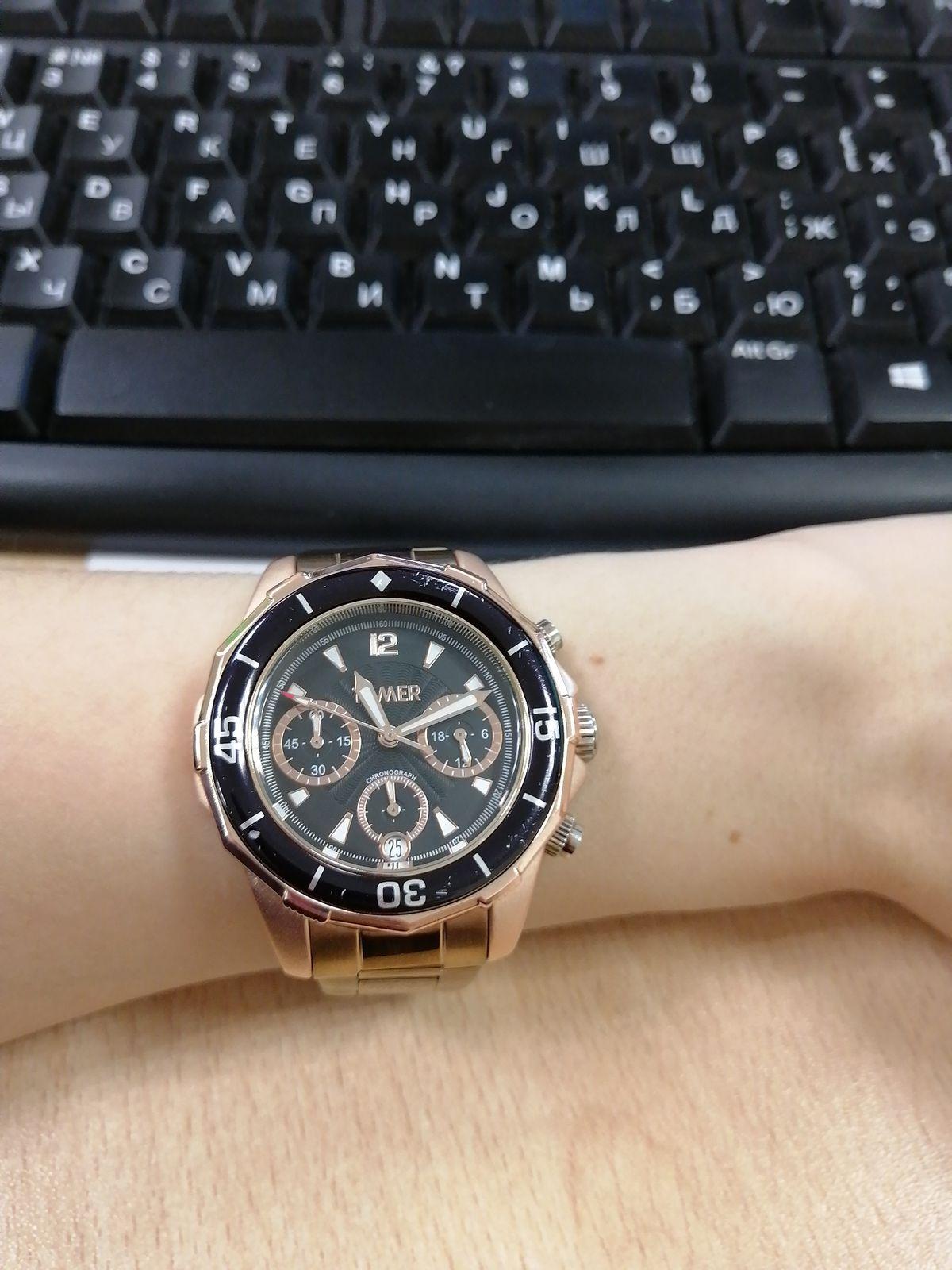 Мужские часы для девушки