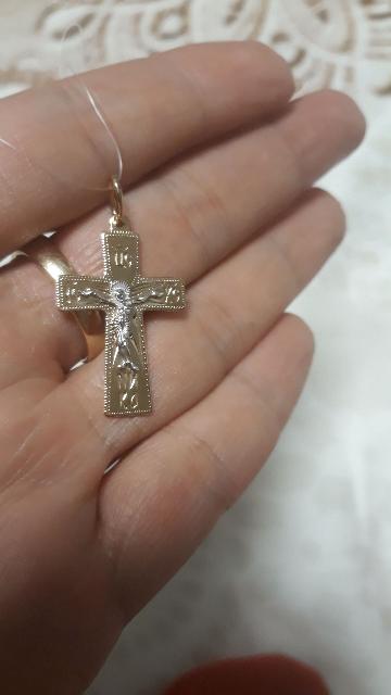 Крестик для сына