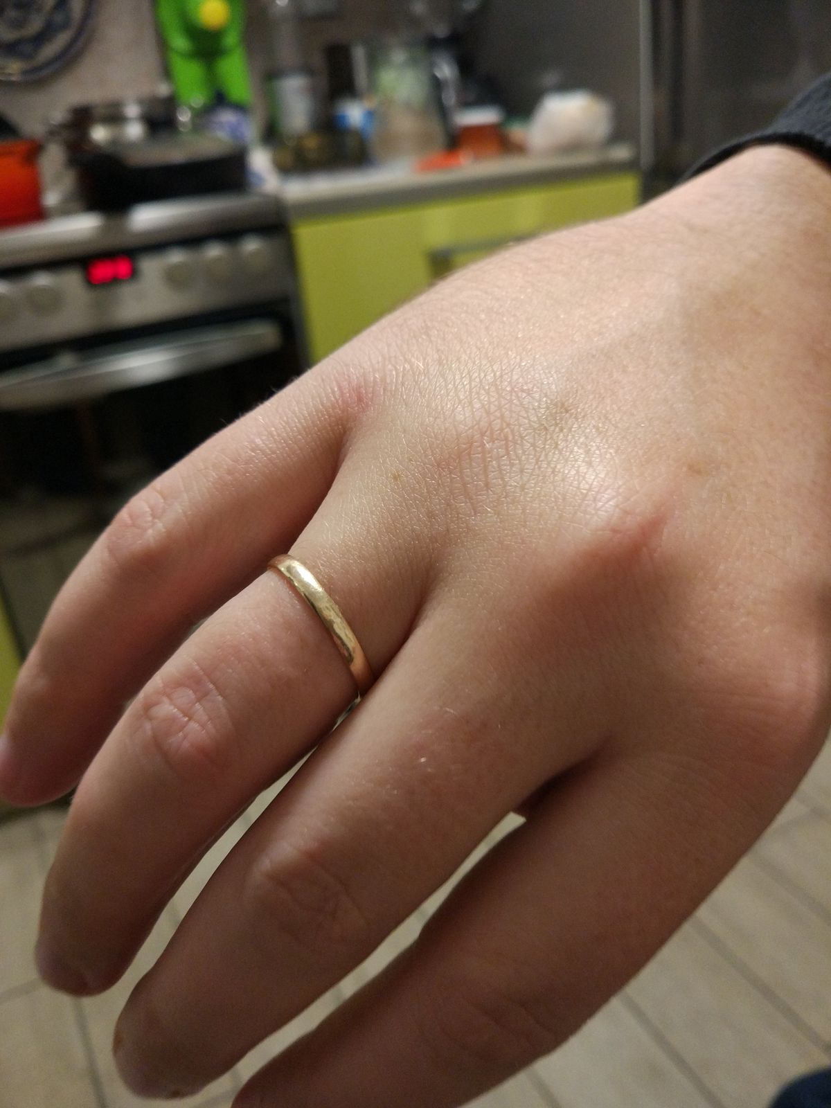 Отличное кольцо. Мужу очень нравится