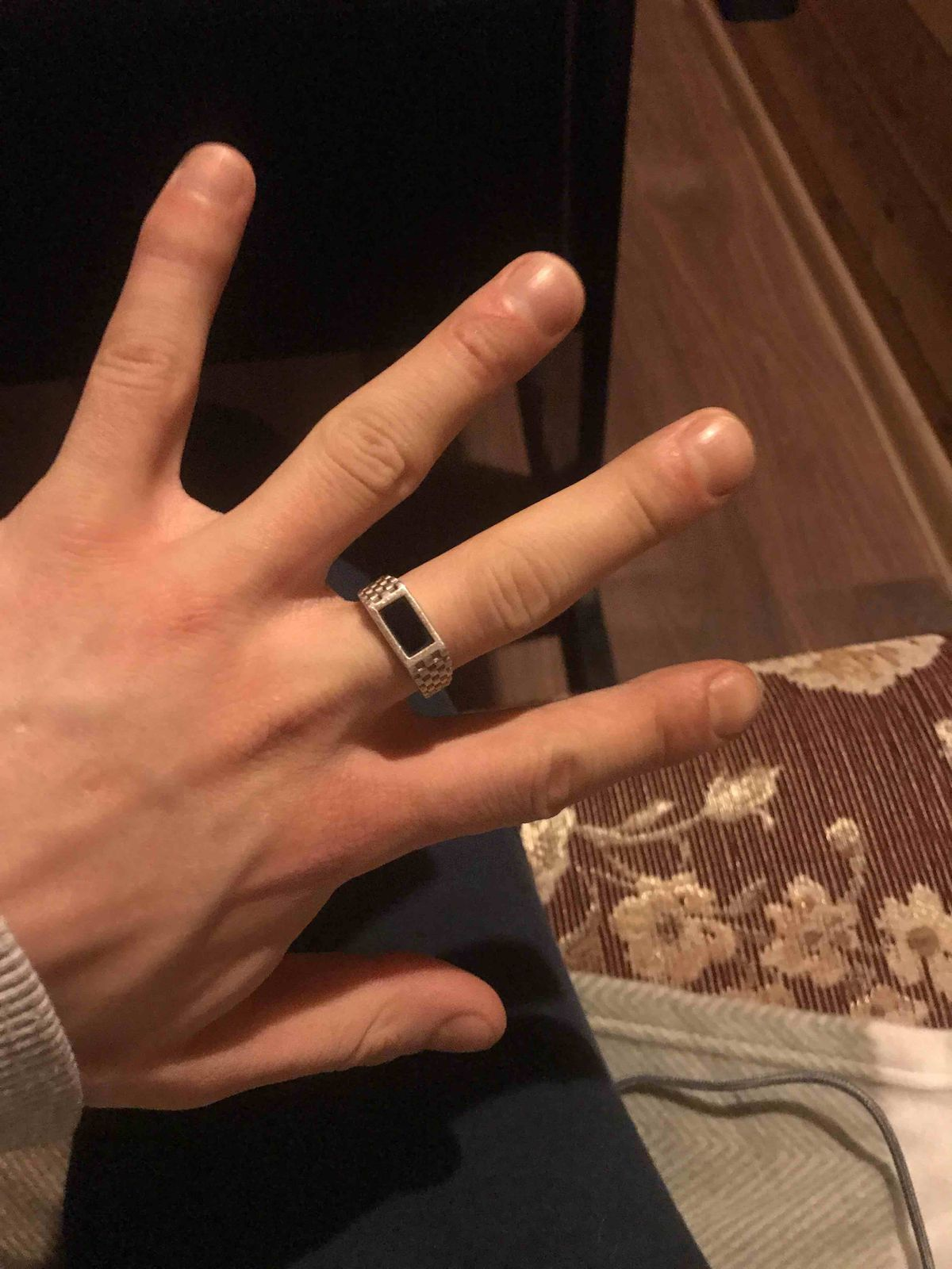 Очень рад данному выбору кольца