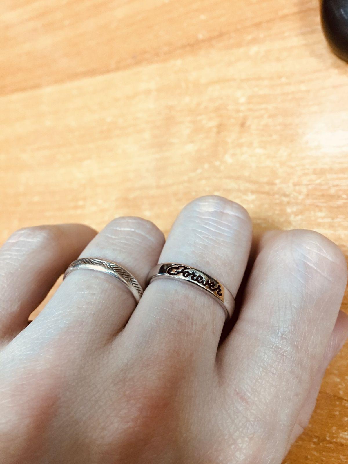 Слабое кольцо с сильной надписью.