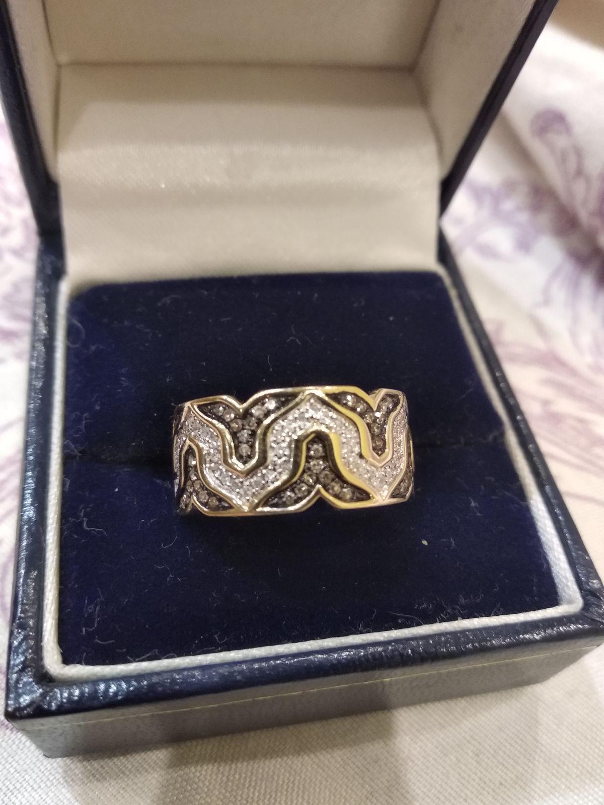 Кольцо с необычным дизайном