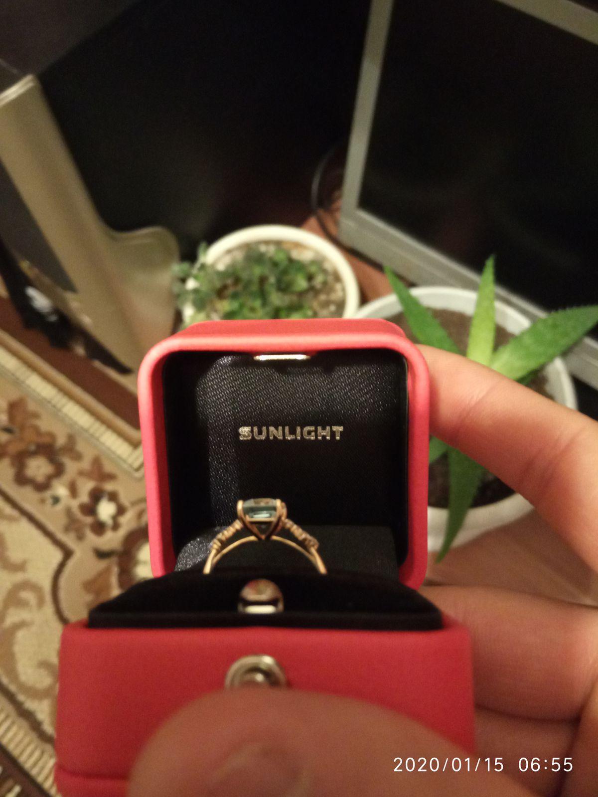 Кольцо на день рождения
