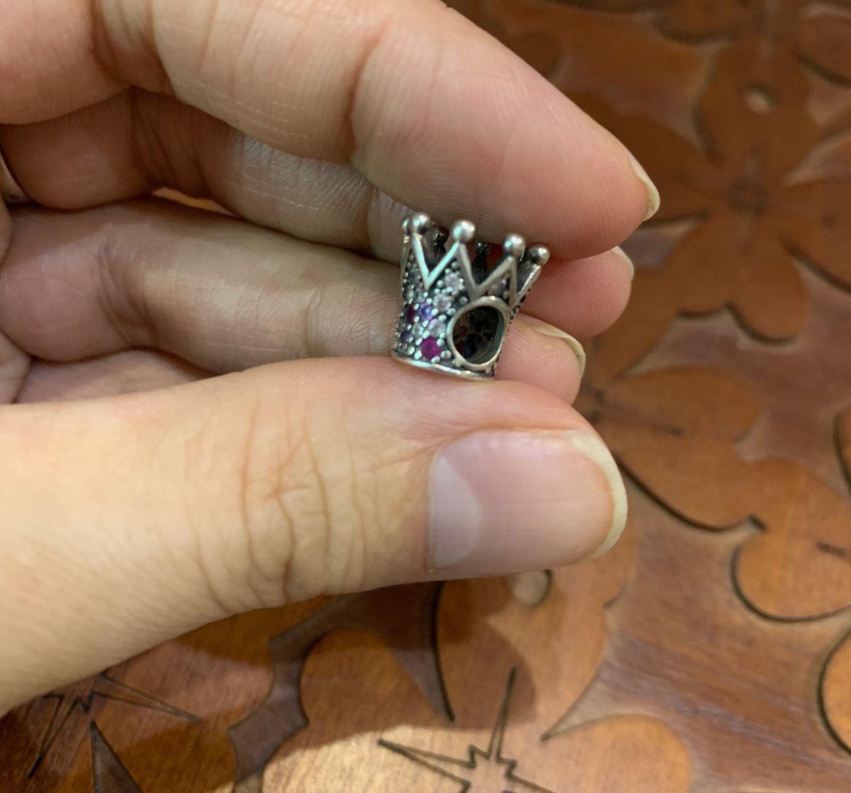 Серебрянный шарм - корона