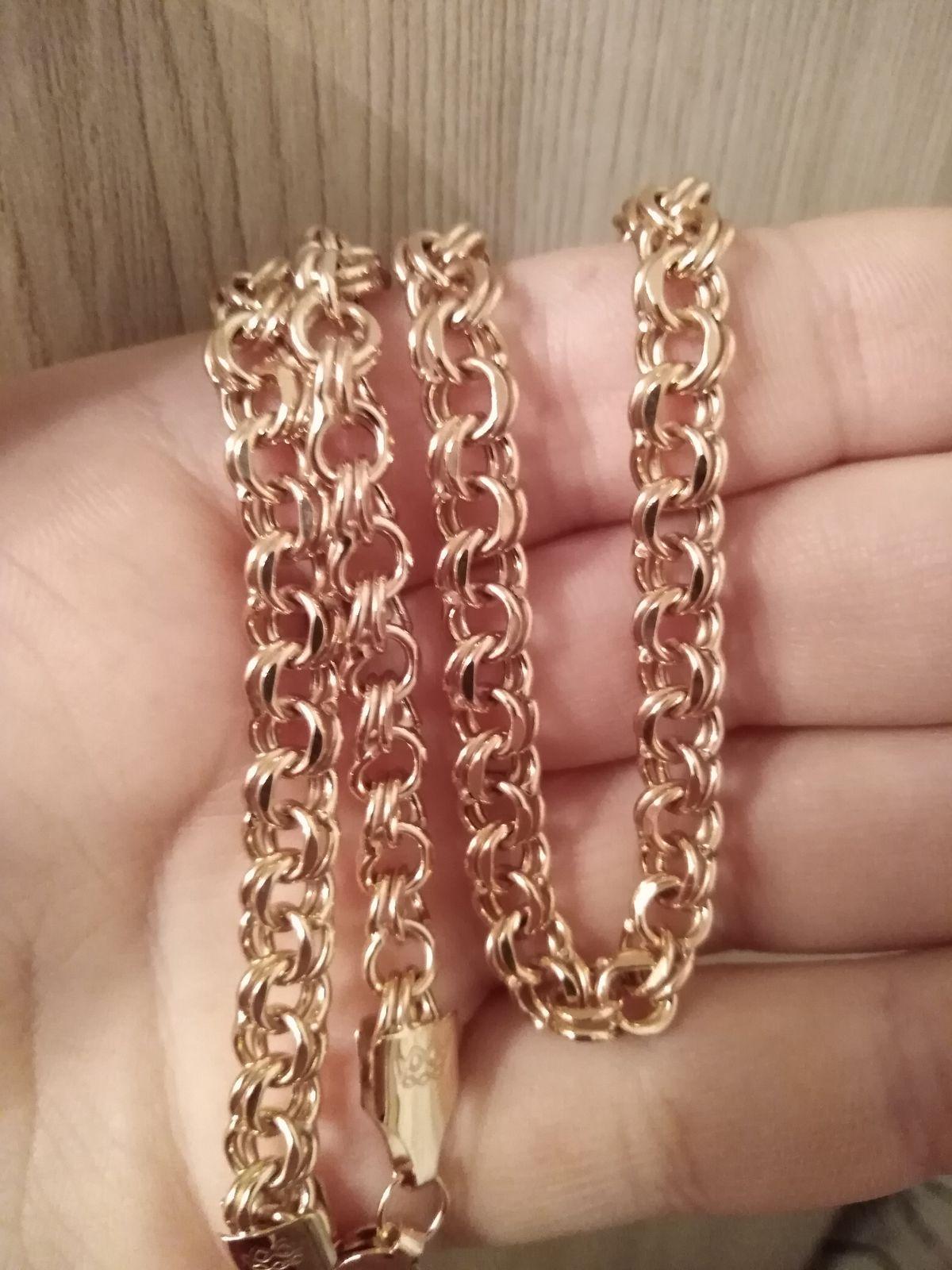 Надежная цепь, плетение красивое и прочное