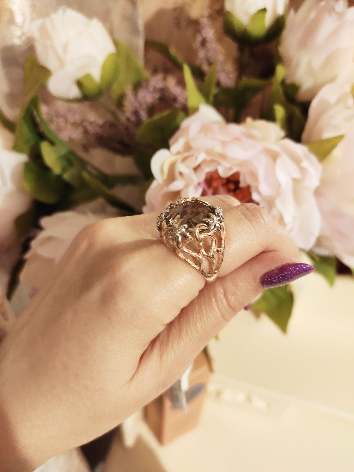 Королевское кольцо! Произведет неизгладимое впечатление!