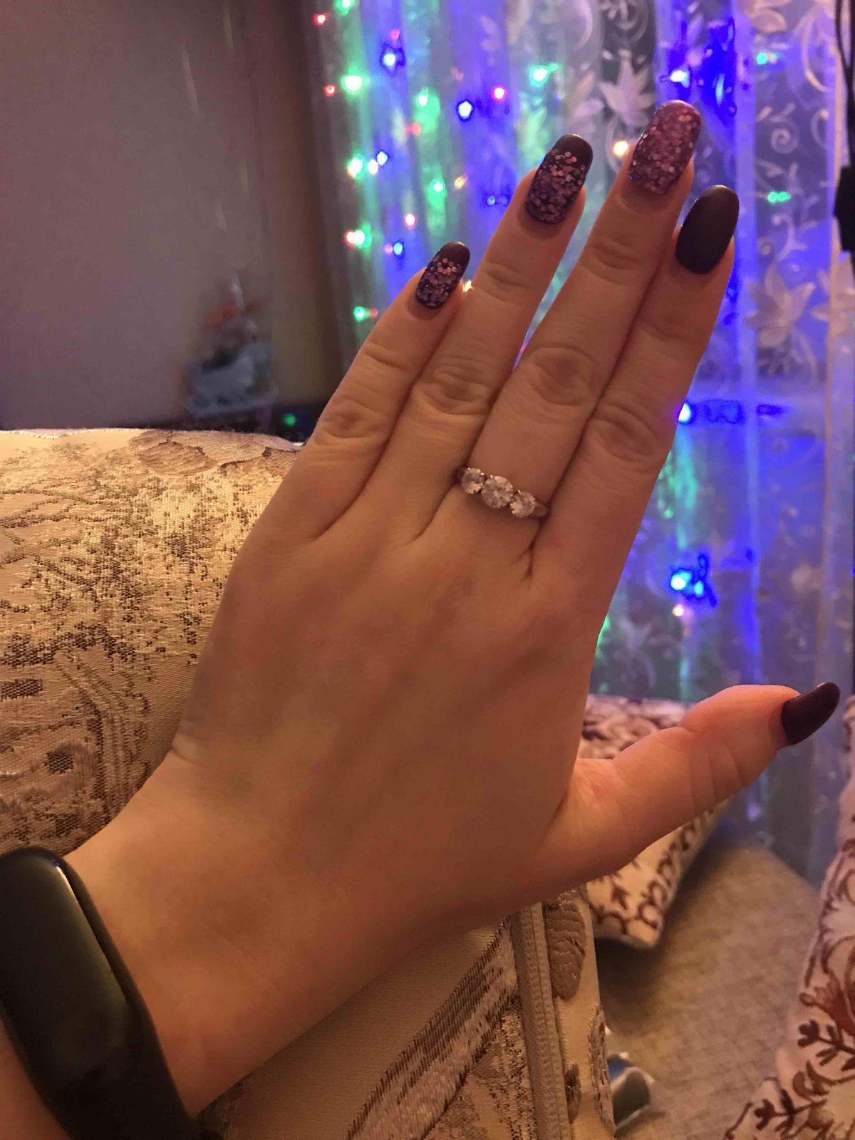 Купила кольцо и просто в восторге от него!