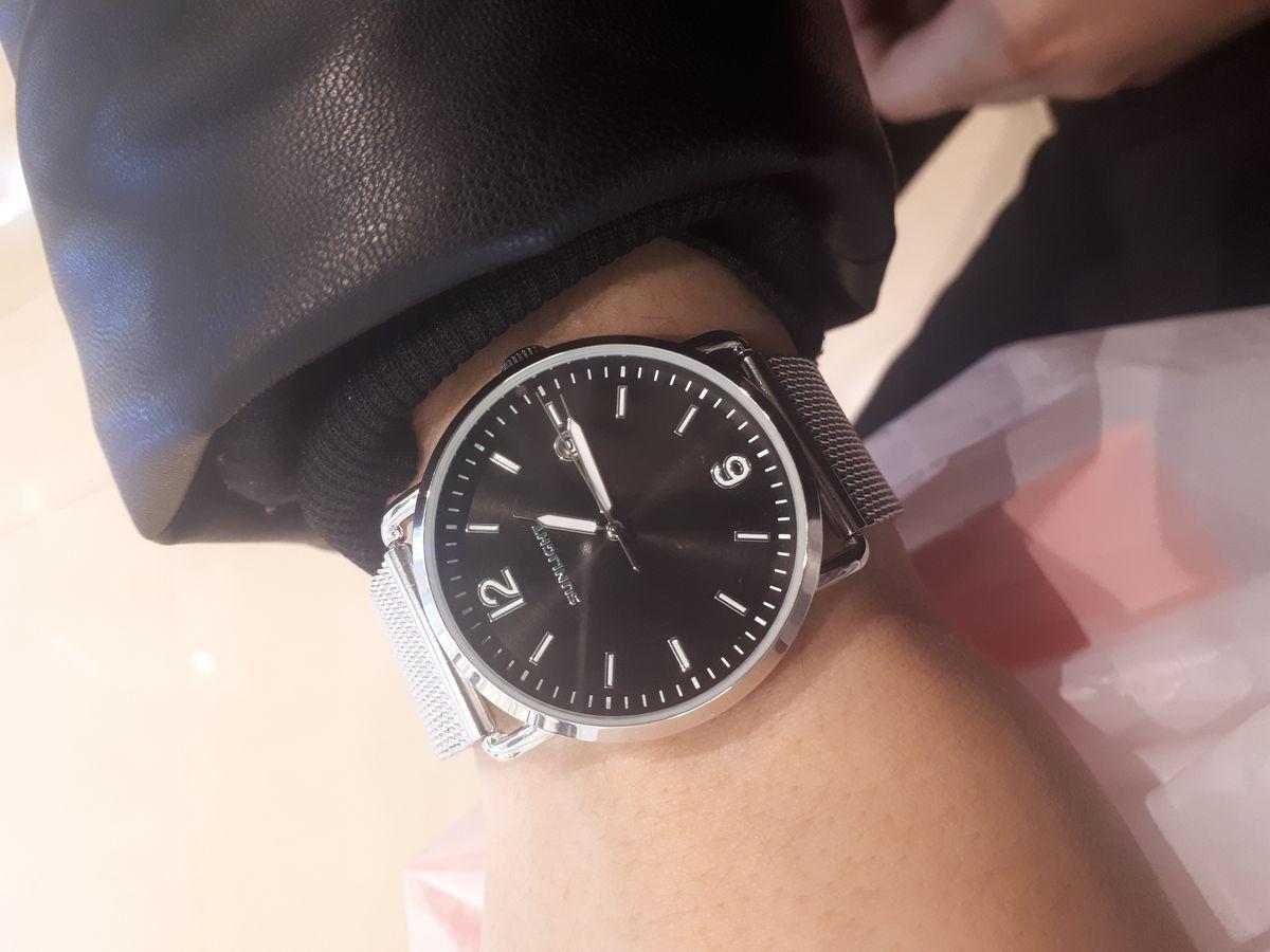 Часы женские, серебряные