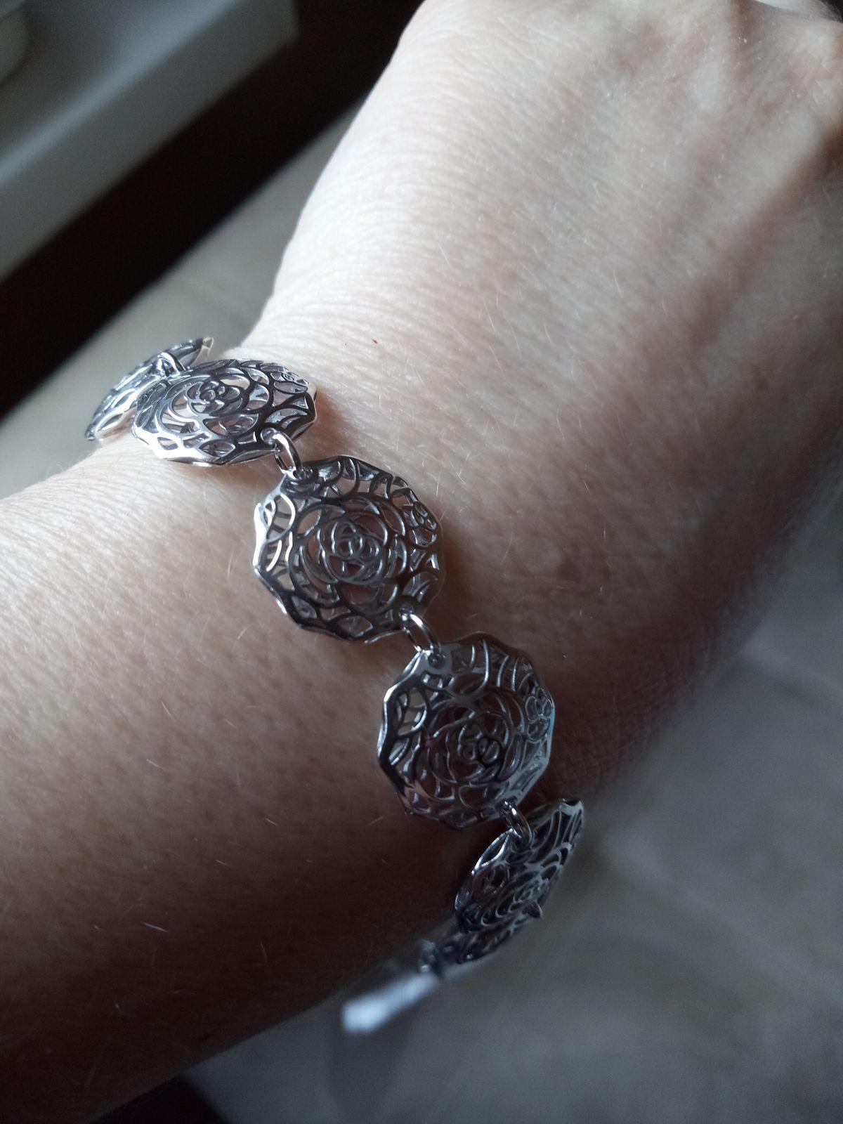 Браслетик серебряный