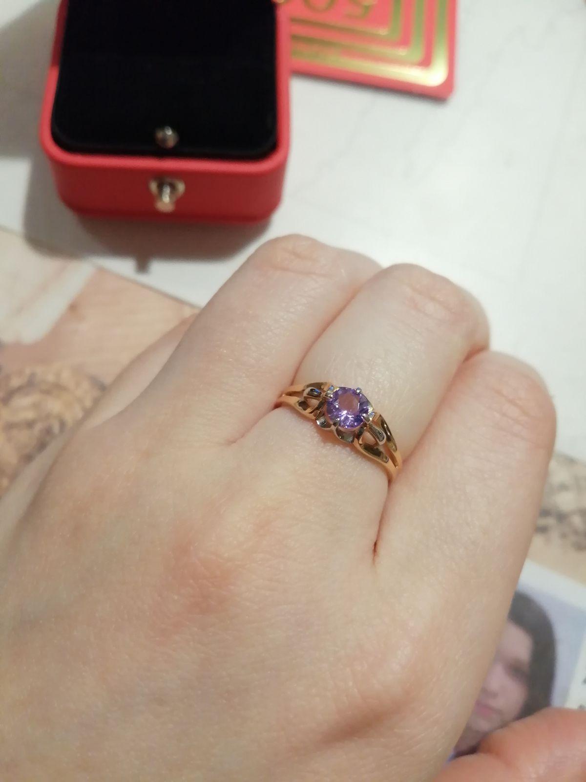 Отличное кольцо! Очень рада покупке!)