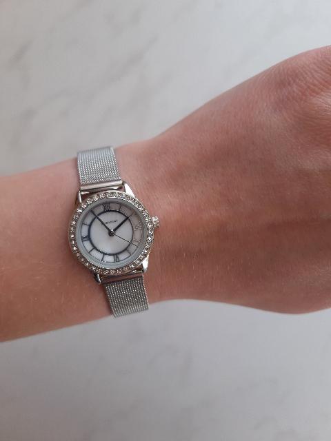Часы под комплект из серебра